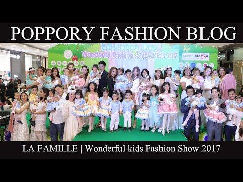 La Famille | Show 1| Wonderful kids Fashion Show 2017