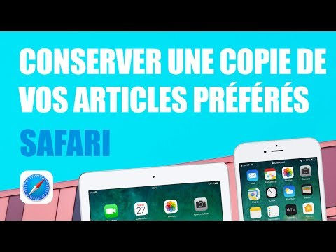 Copier Enregistrer Un Article En Pdf Sur Iphone Ou Ipad