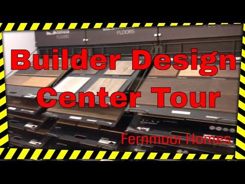 Fernmoor Homes Builder Design Center and NJ Design center tour and construction options.