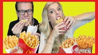 The French Fry Challenge (w/ Rebecca Zamolo and MattSlays)