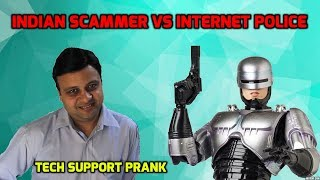 Indian Scammer VS Internet Police [Epic Reaction] thumbnail