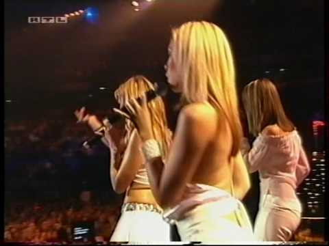 Atomic Kitten - Whole Again/Eternal Flame - live
