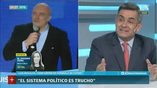 Luis Rosales, vice de José Luis Espert: