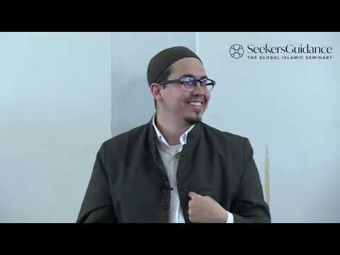 Embracing Excellence -  00 - Introduction To Imam Haddad's Book Of Assistance - Ustadh Amjad Tarsin