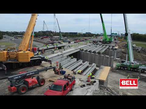 I-24 Accelerated Bridge Replacement Project - First Weekend Timelapse