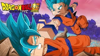 Minecraft : Dragon Ball SUPER HEROES ⏰ - GOHAN VS GOKU SUPER SAYAJIN BLUE ! EP 3