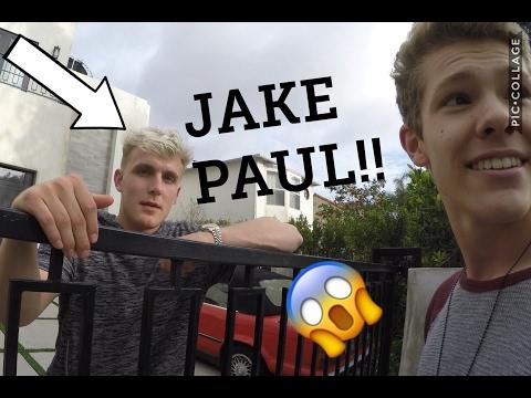 I MET JAKE PAUL!!