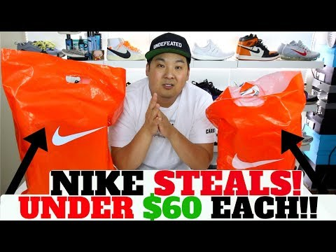 NIKE DBs FOR UNDER $60!! $24 JACKET!!? NIKE CLEARANCE STEALS!!
