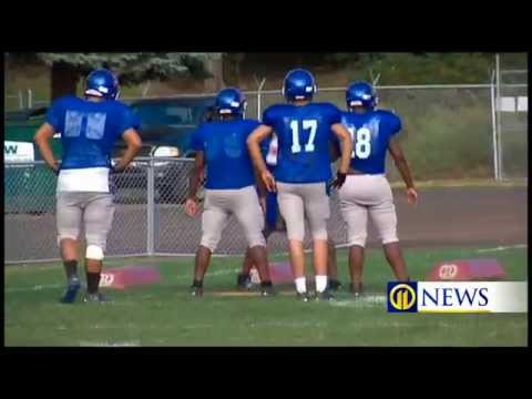 Wilkinsburg football players stay on field despite life challenges