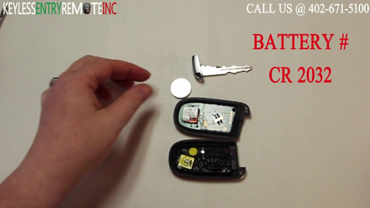 How To Replace Chrysler 300 Key Fob Battery 2011 2012 2013