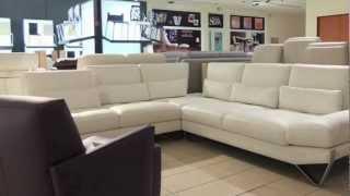 Kožené sedačky, Euro sofa predajňa, moderné sedacie súpravy