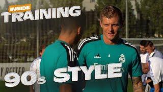 FRESH new Champions League training kit! | Real Madrid