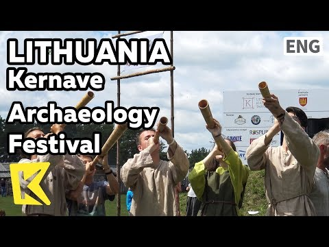 【K】Lithuania Travel-Kernave[리투아니아 여행-케르나베]고고학 축제/Archaeology/Festival/Middle Age/Heathen