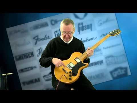 Gibson Guitars For Sale - L6-S Maple Body Harmonica Bridge Original Case (515) 864-61361973 Blonde