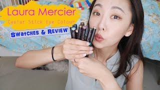 Laura Mercier Caviar Stick Eye Colour is suuuuper smooth and pigmen...