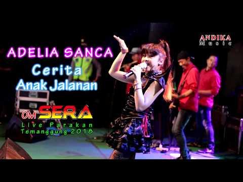 Adelia Sanca - Cerita Anak Jalanan - OM. SERA Live Parakan 2018
