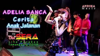 Adelia Sanca Cerita Anak Jalanan OM SERA live Parakan 2018