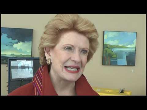 US Senator Debbie Stabenow visits Michigan Tech