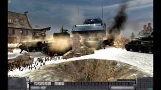 "MEN OF WAR (PC): ""Operation Gungnir"" - Landkreuzer P1000 Ratte - December 22, 1944"
