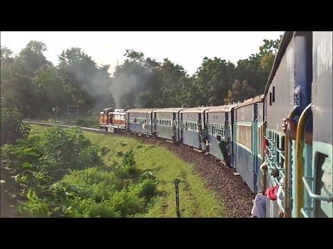 Indian Railways : Historic Journey In 10001 Legendary Satpura Express From Balaghat To Shikara