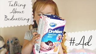 Repeat youtube video We Are DryNites Ambassadors! Talking About Bed Wetting #AD