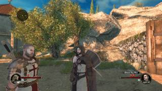 The First Templar gameplay in HD - Review and first impressions.