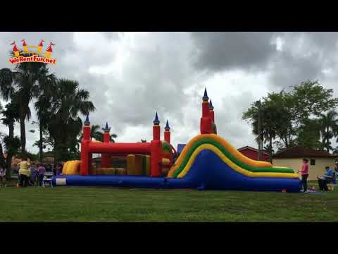 Mega Obstacle Course _ WeRentFun.Net