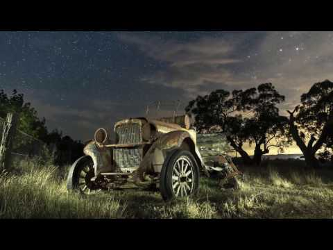 Fine Art Light Painting the Old Ute