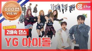 2배속댄스 Yg In Your Area Yg아이돌들의 세상 편안한 2배속 댄스 모음 Zip L 와이지 아이돌 Yg Idol L 2xfasterdance MP3