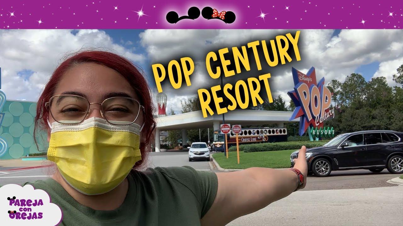 RECORRIDO COMPLETO POP CENTURY RESORT DISNEY WORLD 2021 - HOTEL ECONÓMICO DISNEY