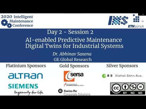 [IMC2020] AI-enabled Predictive Maintenance Digital Twins for Industrial Systems