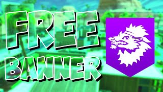 HOW TO GET FREE DIRE BANNER - FORTNITE BATTLE ROYALE