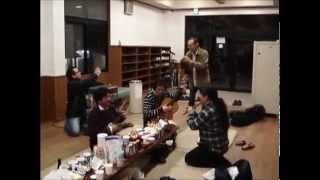 MAYAの橋本さんがbunケーナを吹いてくれました♪ 数年前の話ですがね...