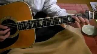 素人のギター弾き語り ふり向かないで シモンズ 1971年 Furimukanaide (...
