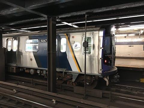 NYC Subway HD 60fps: Cuomo R160 E Trains @ Second Avenue - Houston Street (11/26/17)