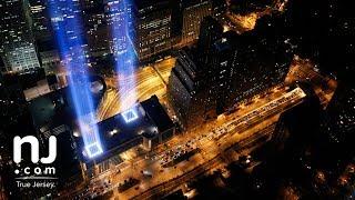 Tribute in Light World Trade Center attacks anniversary