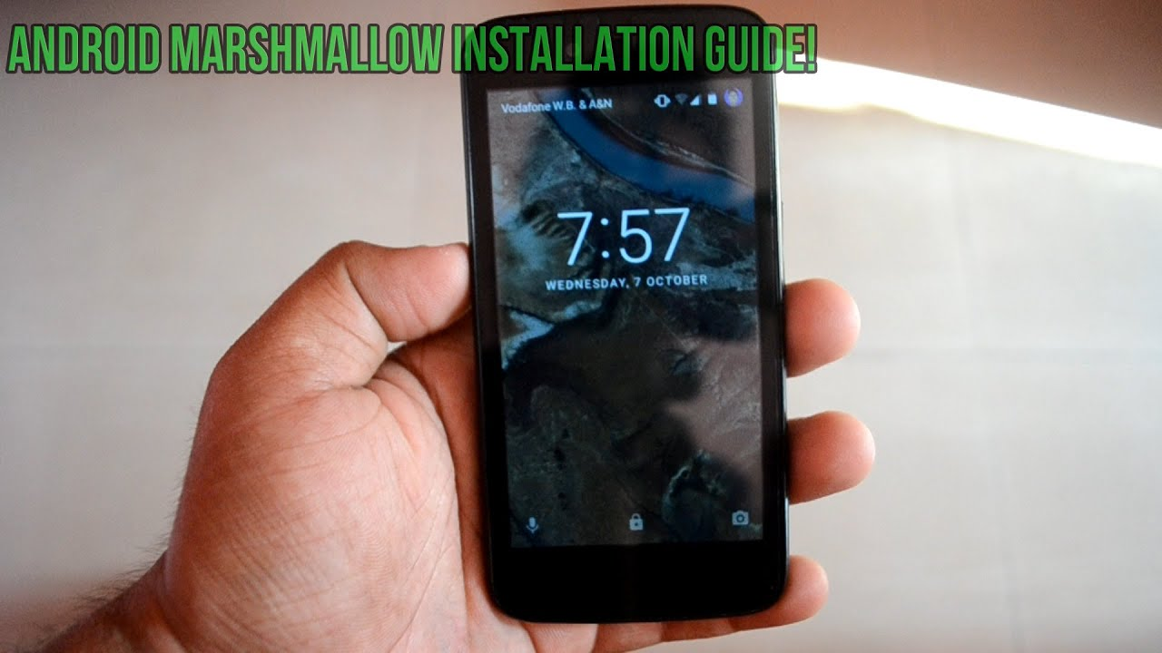 how to manually install android 6 0 marshmallow official on android rh youtube com HTC Sensation Sprint HTC Hero