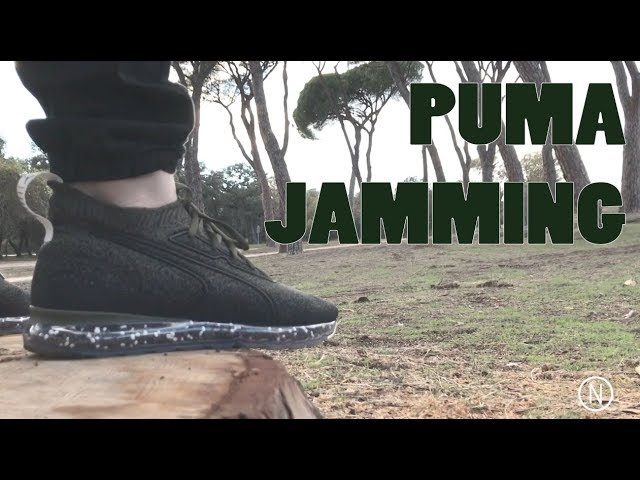 Puma Jamming on feet NOIRFONCE Sneakers