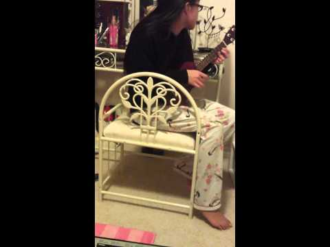Alice playing her BF's song (;