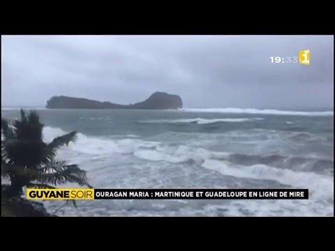 L'ouragan Maria en Martinique et Guadeloupe
