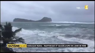 Видео L'ouragan Maria en Martinique et Guadeloupe от Guyane 1ère, Гваделупа