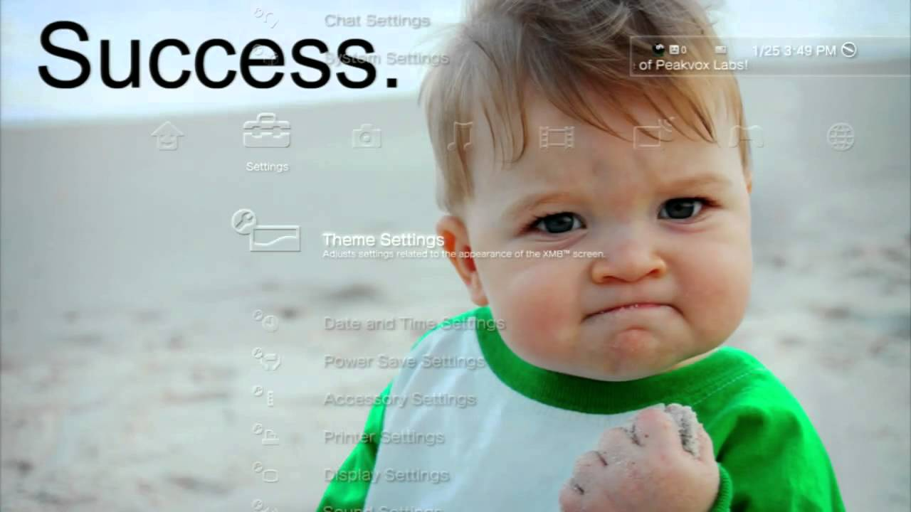 Funny Baby Meme Yes : Meme success kid dynamic theme youtube