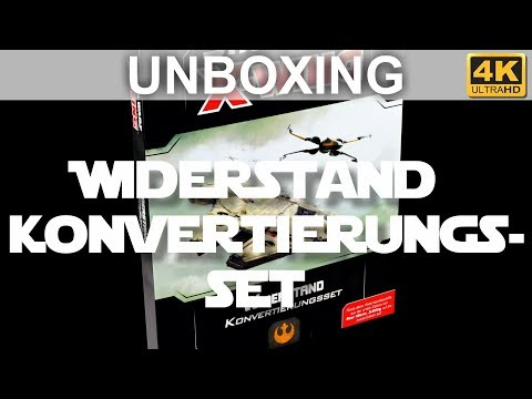 Star Wars X-Wing 2. Edition: Widerstand Konvertierungsset - Unboxing (4K)