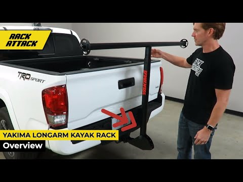 Yakima LongArm Hitch Mount Load Support  Bed Extender For Kayaks Canoes SUPs