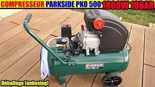 compresseur parkside pko 500 a1 lidl deballage compressor  kompressor Compressore