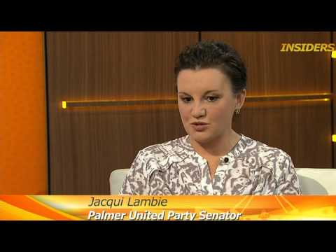 Insiders interview with Jacqui Lambie