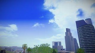GTA SA   SkyBox Arrange - Real Clouds and Stars   MOD