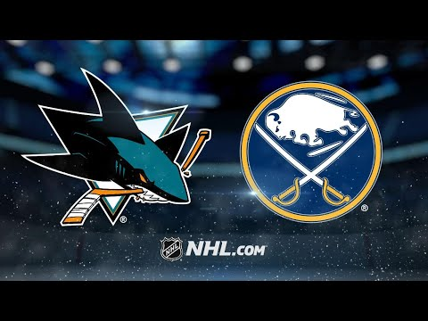 Couture's late goal gives Sharks 3-2 win vs. Sabres