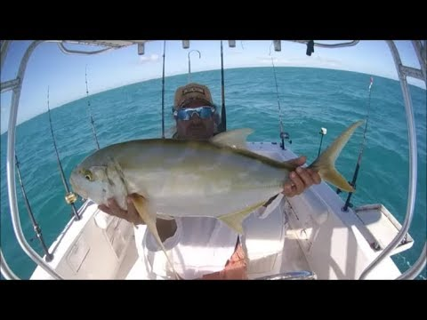 REEF TROLLING ACTION KEY WEST FISHING  FULL DAY VIDEO