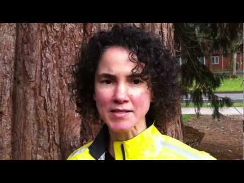 Irene Schoppy talk about Marys Peak Group Sierra Club hikes